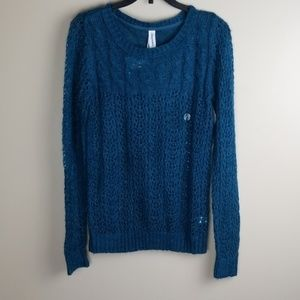 Aeropostate Chenille cane sweater  new with tags